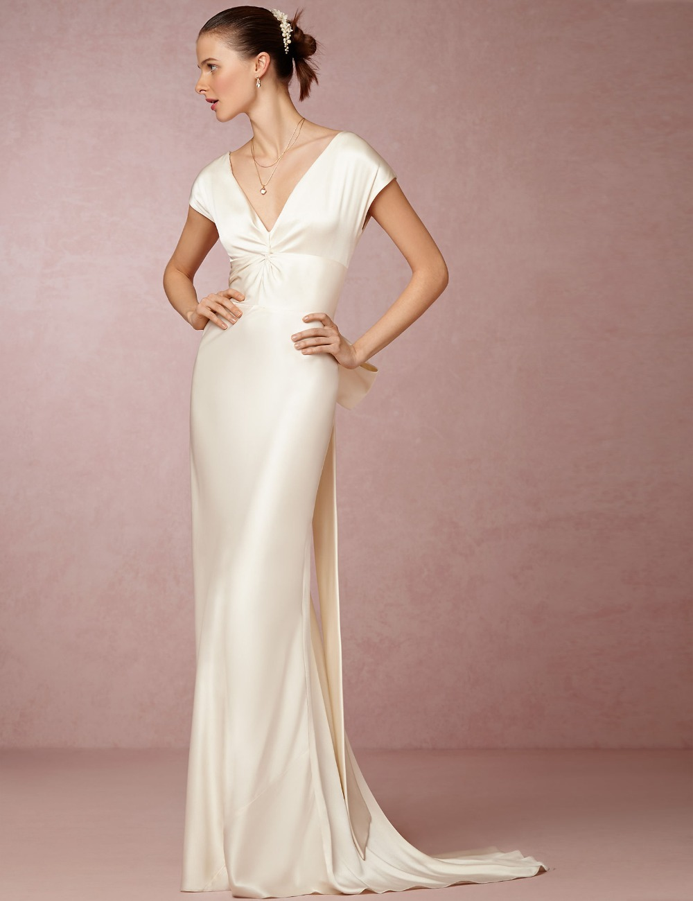 Elegant silk wedding dresses sang maestro silk wedding dresses ombrellifo Image collections