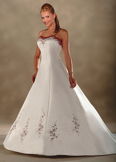 Stunning Wedding Gowns with Brave Accents