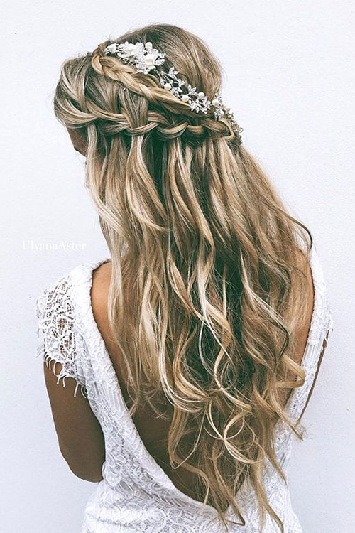 Bridal Hairstyles For Long Hair 2