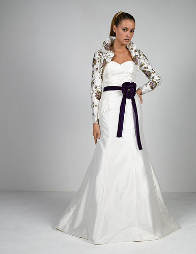 modern long sleeve wedding dresses sang maestro