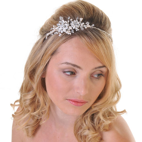 bridal side tiara uk