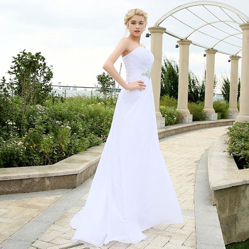 Gorgeous Strapless Wedding Gowns