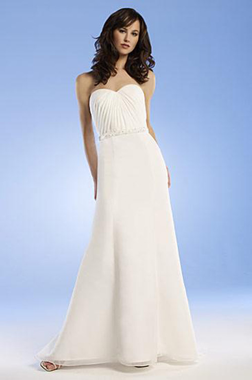 white taffeta wedding dress gown