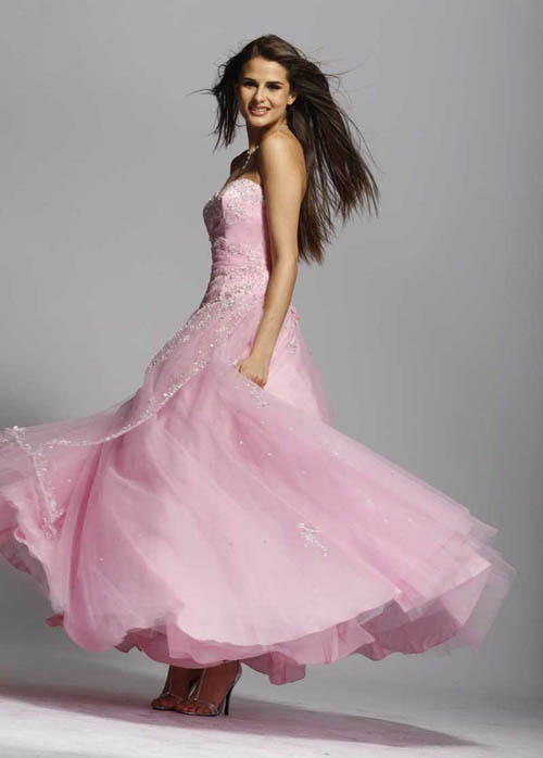 wedding pink bridesmaid dresses