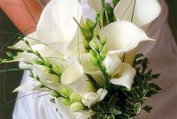calla lilies wedding bouquet