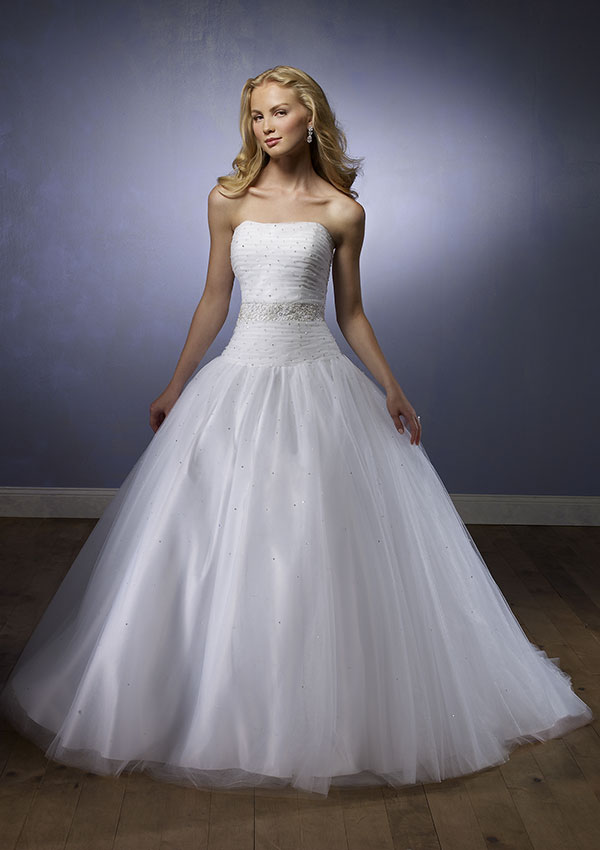Morilee bridal ball gown sang maestro Wedding dress a line ball gown