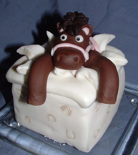 Horse Cakes for Wedding Favors