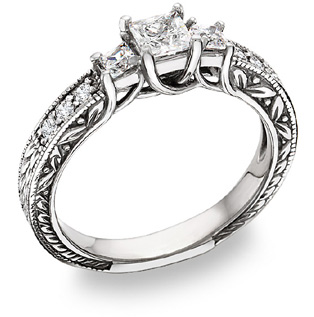 The Five Popular Diamond Engagement Rings