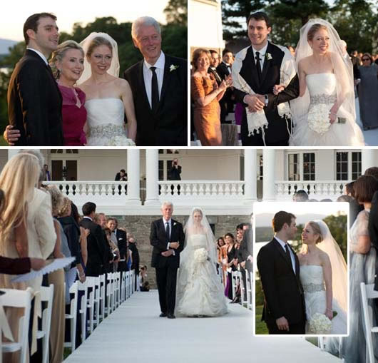 Chelsea Clinton Wedding Gown: Wedding Inspirations And Ideas From Chelsea Clinton's