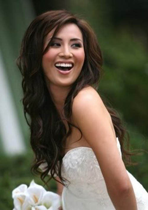 wedding hairstyles for long hair. So your wedding day is coming soon.