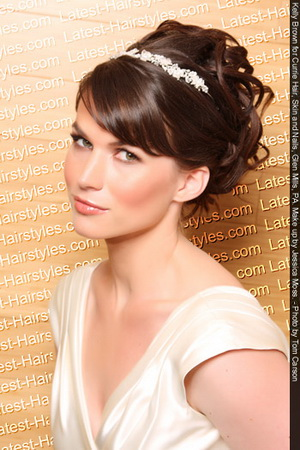 Prom Updo Hairstyle Prom is an event for girls where everything needs to be