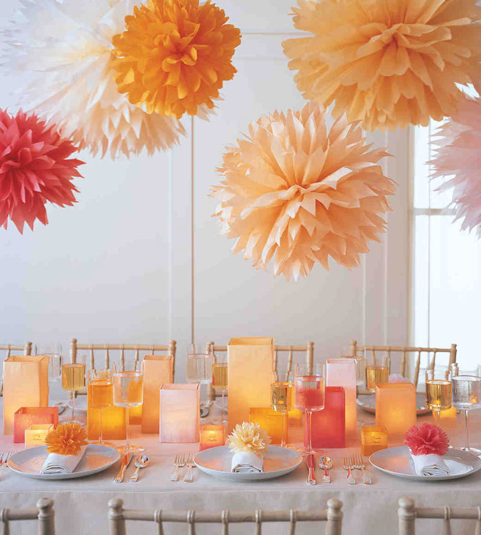ideas for cheap wedding autumn candle centerpiece | Sangmaestro