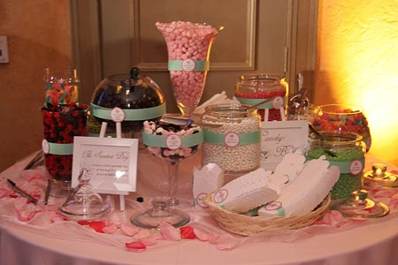 Retro Wedding Candy Bar