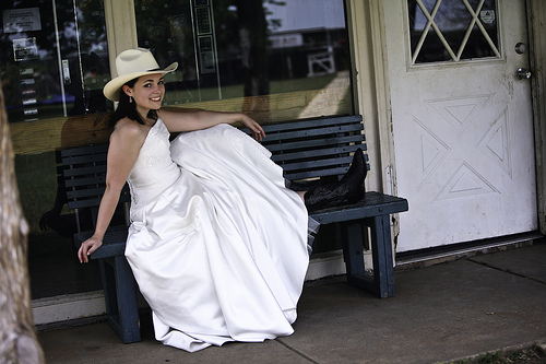 country western style wedding dresses