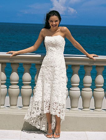 embroidered cheap white wedding dresses