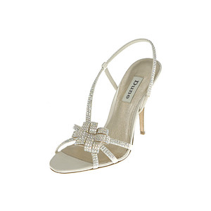 ivory diamante wedding shoes