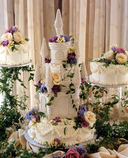 castle wedding cakes