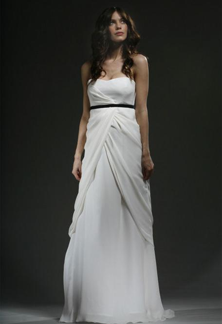empire waistline wedding dresses