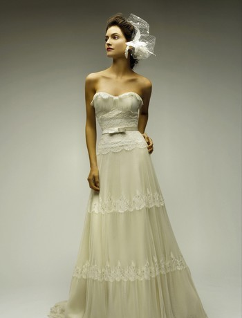 natural waistline wedding dresses