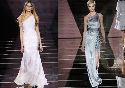 elegant versace wedding dresses 2011