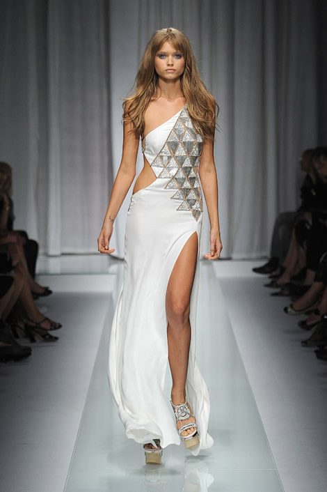 sexy versace wedding dresses 2011