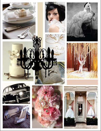 Vintage wedding theme ideas sang maestro for Vintage theme ideas