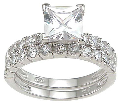 princess cut wedding rings