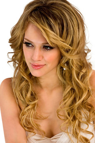 Long Curly Blonde Wedding Hairstyles Sang Maestro