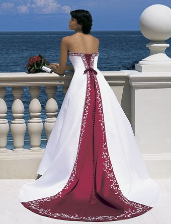 one-piece corset wedding dress
