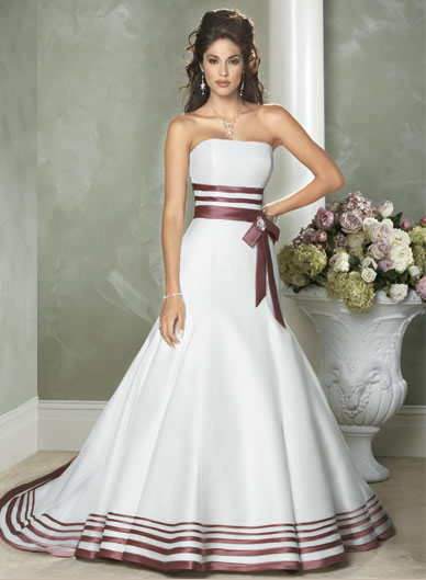 Wedding Dresses With Little Color : Ivory color wedding dress sang maestro