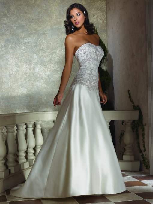 shantung wedding dresses
