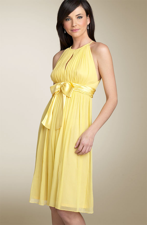 Yellow Bridesmaid Dresses 82