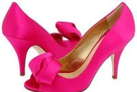 pink bridesmaid shoes design