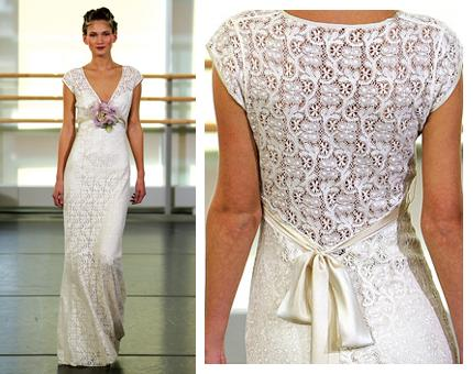 crochet wedding gown patterns If you know how to sew you are in luck