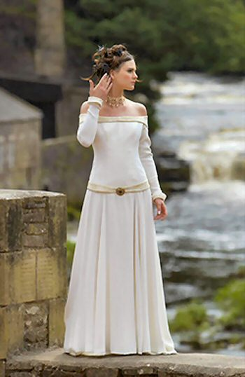 Modern Irish Wedding Dresses : Celtic wedding dresses sang maestro