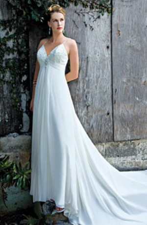 flowing beach wedding dresses sang maestro