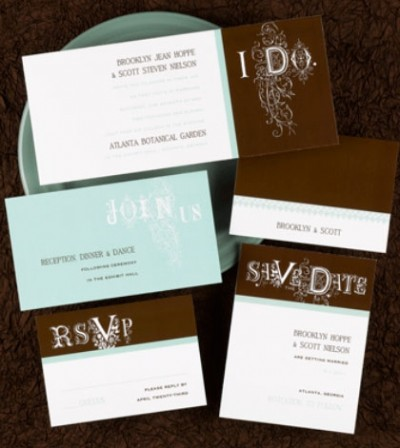 simple custom wedding invitations