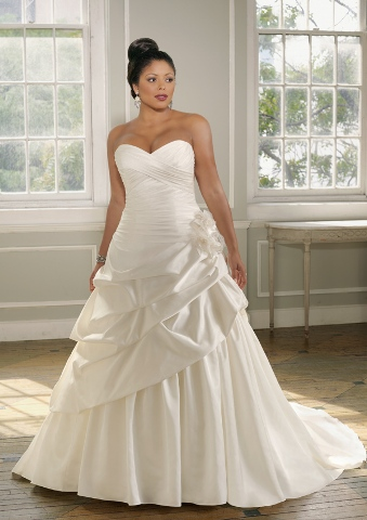Wedding Dress For Curvy Women