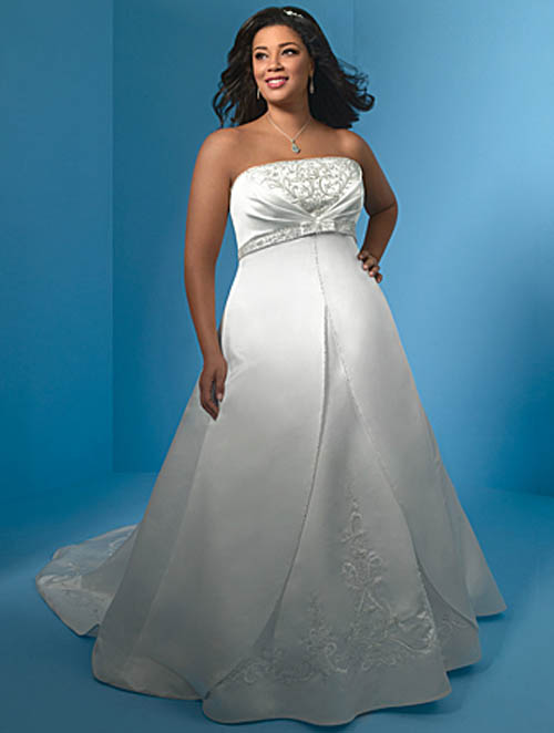 Plus size designer wedding dresses sang maestro for Plus size designer wedding dresses