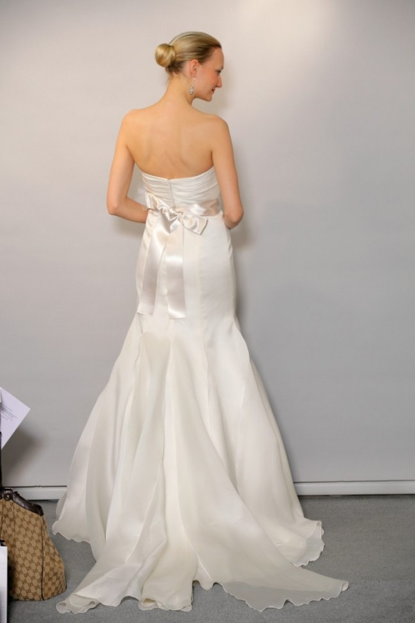 anne barge wedding dress with court train