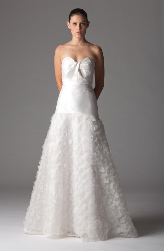 drop waist spring aria wedding dress