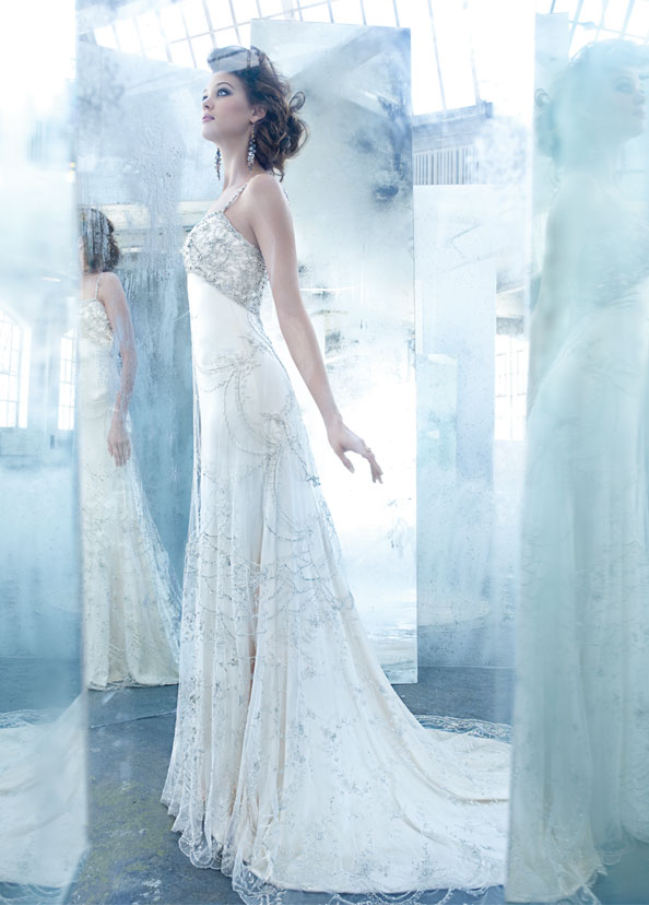 lazaro bridal silk charmeuse 2013