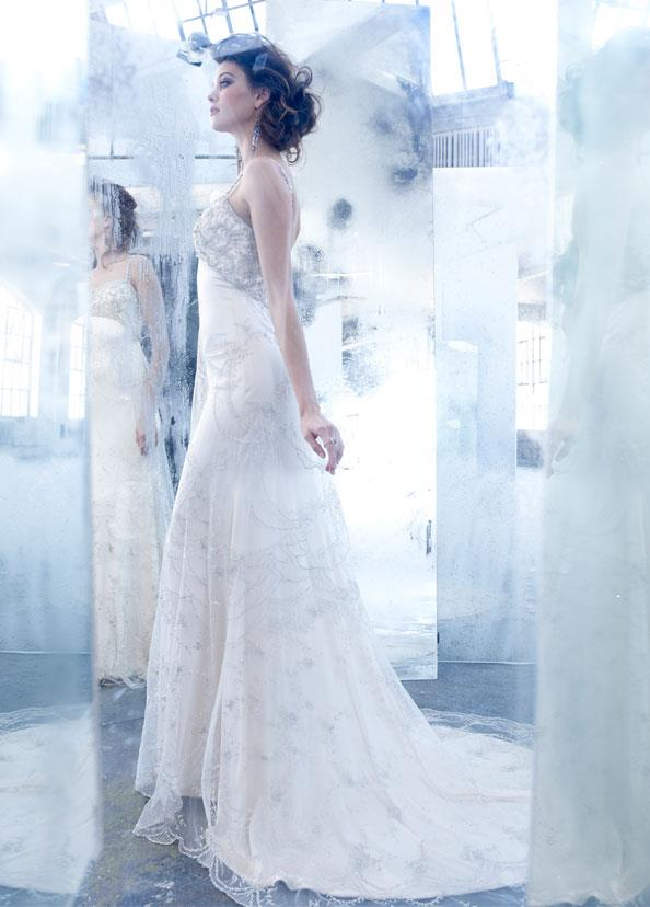 lazaro spring wedding dress 2013