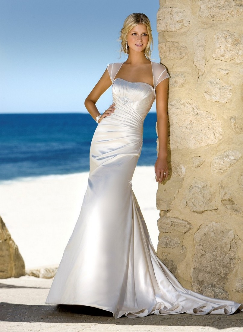 mermaid summer beach wedding dress sang maestro
