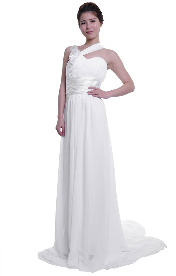 moonar chiffon sheath wedding dress