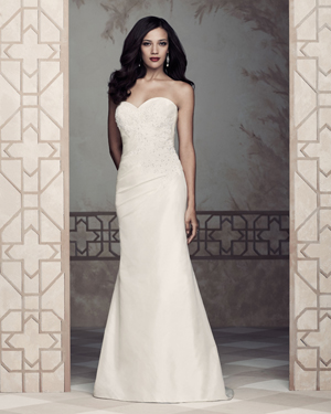 paloma blanca silk bridal dress 2013
