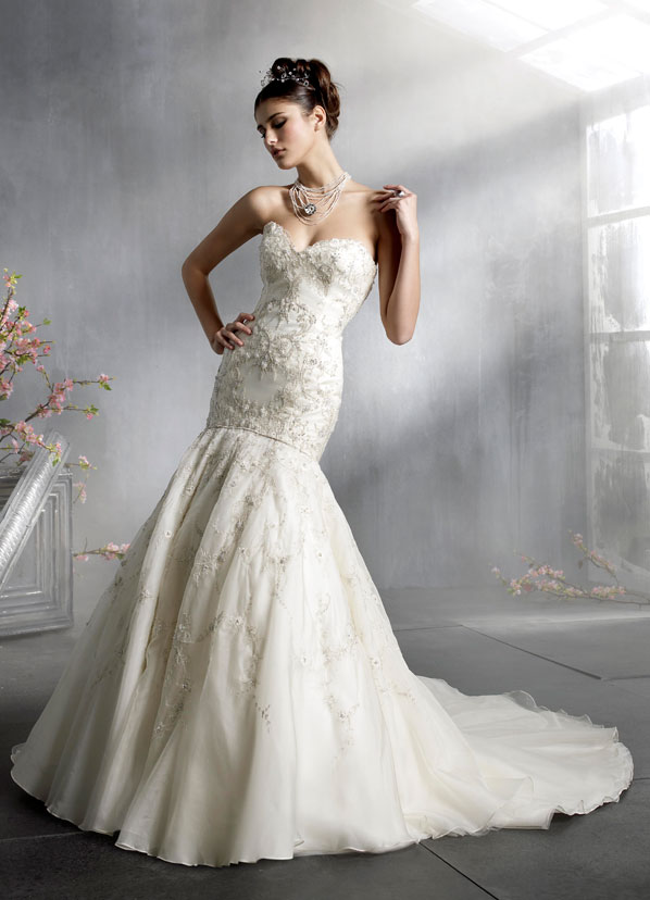 beaded couture wedding gowns