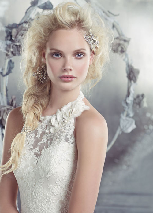 alvina valenta spring 2013 sweetheart neckline with sheer lace halter