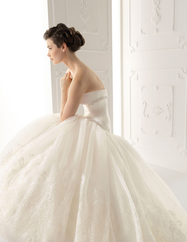 beautiful alma novia wedding dresses 2012 sang maestro
