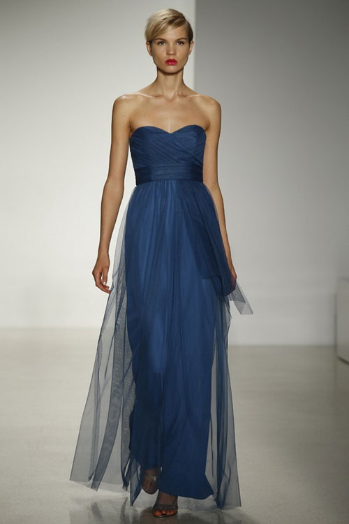 Amsale Fall 2014 Bridesmaid Dresses amsale wedding dresses for